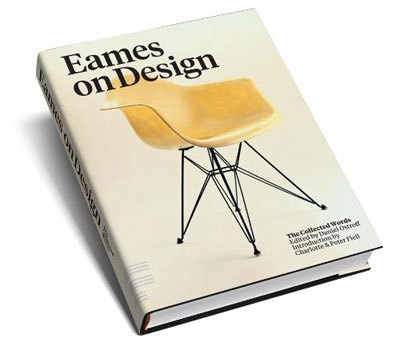 theblackbook:  Retro To Go: Eames on Design: The Collected Words by Daniel Ostroff