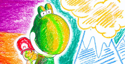 "My latest column for Kill Screen Magazine is ""Yoshi's Fauvist Island,"" an exploration of how the 1995 video game Super Mario World 2: Yoshi's Island is a Fauvist masterpiece:  ""Wild beast"" could just as accurately describe Yoshi's Island's  careening sense of color, with level backgrounds that range from  pastel-tinged mountaintops to green-jeweled forests and dank blue caves.  During the game's introductory cut scene where Baby Luigi first goes  missing, the rainbow group of Yoshis congregate in a surreally-colored  forest bower, with pale pink and orange bushes, parti-colored vine  tendrils of blue, green and purple, and trees set with orange flowers.  In the early stages of the game, Yoshi bounces through rolling hills,  afternoon sunlight turning them a bright, solid yellow. The game looks  beautiful, but looking with an eye to art history, Yoshi's Island's aesthetics are actually very avant-garde.  Check out the full thing here. I love the illustration by Daniel Purvis, at top."