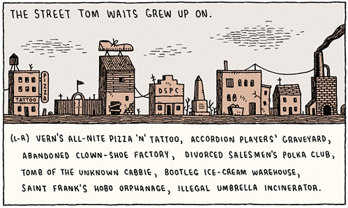 nevver:  The street Tom Waits grew up on