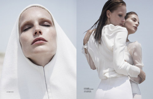 """January 3""  Stockholm A/W 2011  photographer: Kai Z Feng Katrin Thormann, Dorothea Barth Jorgensen Dorothea Barth Jorgensen, Katrin Thormann & Amanda Norgaard for Stockholm A/W 2011 by Kai Z Feng"