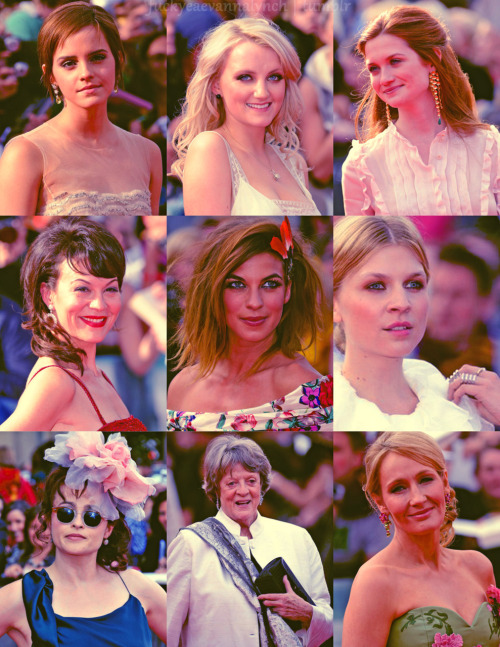To the beautiful women and our Queen of Hogwarts! Thank you for everything you have done.