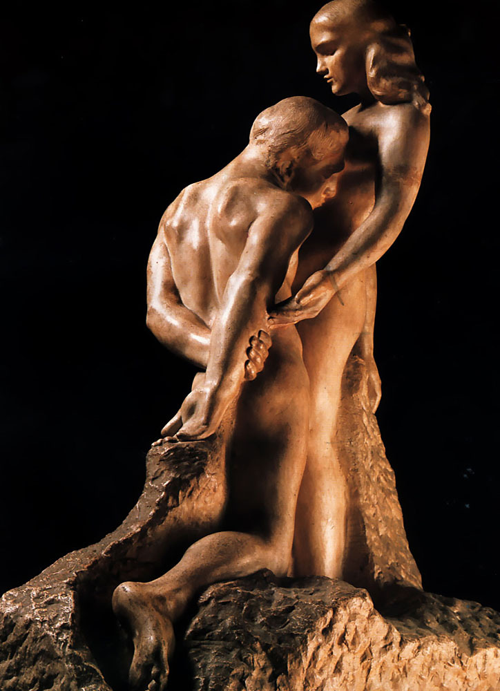 Auguste Rodin. (1840-1917). Eternal Idol, 1889. Musee Rodin (Paris, France)