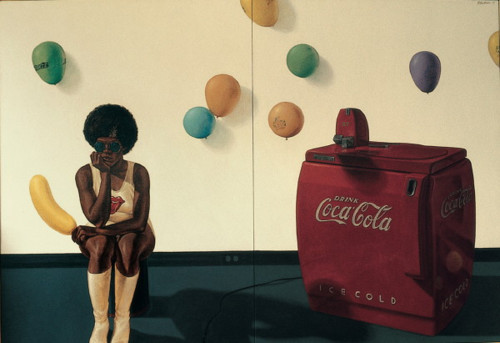Barkley Hendricks, black coke!