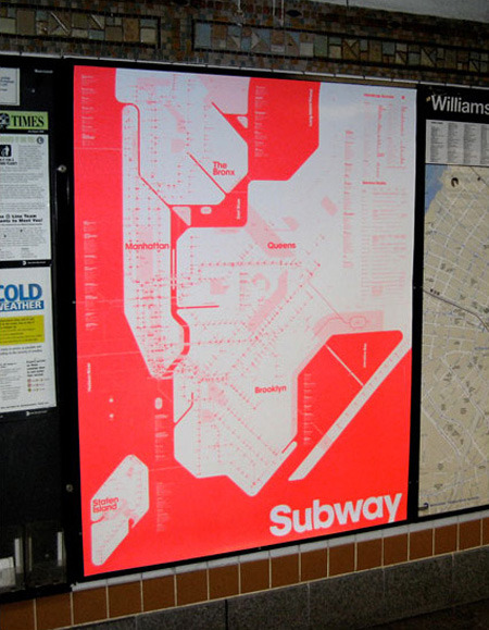 edgina:  New York Subway Map by Triboro team