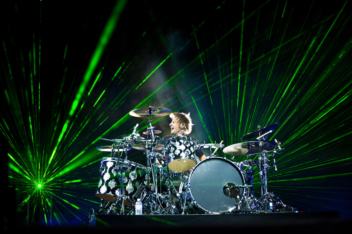 …Dominic Howard from Muse