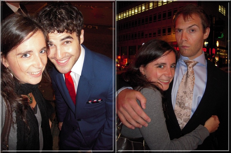 youmaynotrememberme:I casually met Darren Criss and Joe Walker in the middle of Central London and that was kind of awesome.