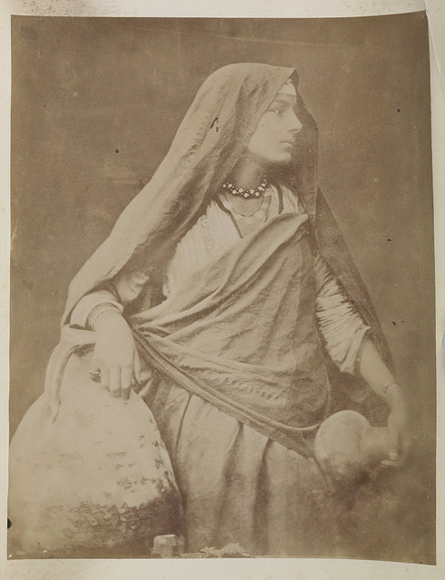 'Egyptian woman with a water jug' by National Media Museum on Flickr.