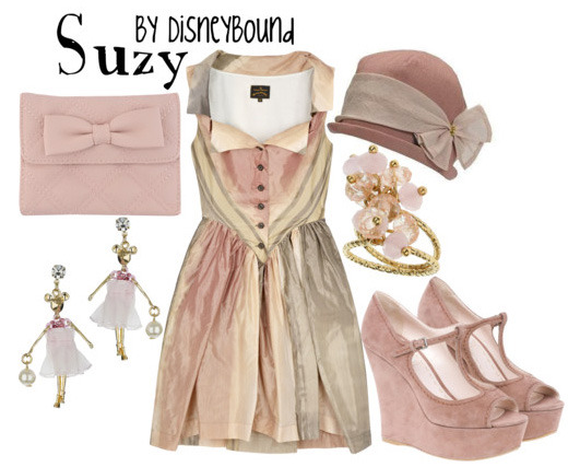 One of the littlest fashion designers, Suzy - from Cinderella. I love this dress. Like…in love.