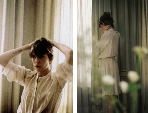 gethecool:  Lou Doillon for Vanessa Bruno by Mark Borthwick.