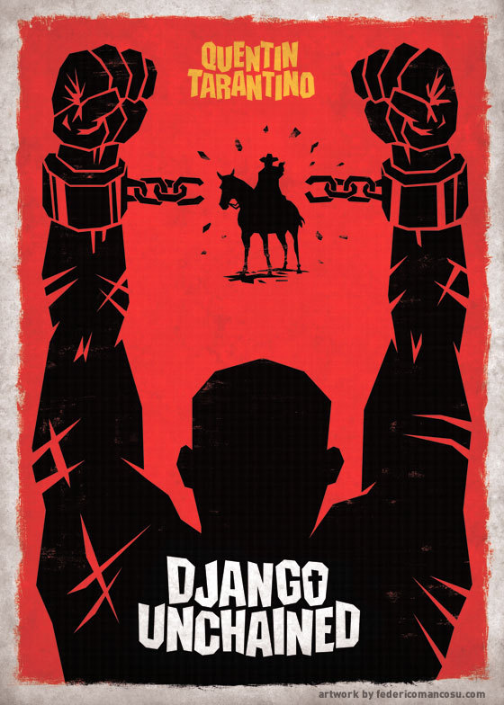 The new poster for Quentin Tarantino's 'Django Unchained' starring Christoph Waltz, Idris Elba, Samuel L. Jackson & Will Smith… I can't wait! booby4649:  Django Unchained