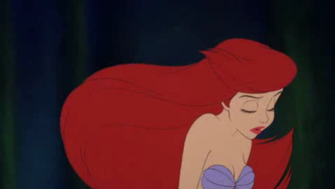 """…but if you would just listen!"" Ariel from Disney's The Little Mermaid"