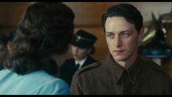 Watching the director's commentary for Atonement.  In this scene, Joe Wright said that neither he nor James McAvoy could stop crying.