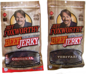 Is that jerky roasted? The Roast of Jeff Foxworthy, tomorrow night at 9:30/8:30c on Comedy Central.