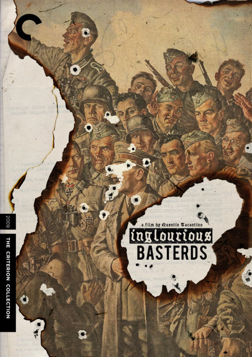 "Criterion Cover for Quentin Tarantino's ""Inglourious Basterds"""