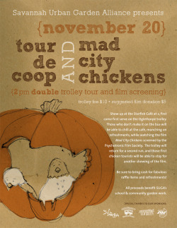 Poster design for Savannah Urban Garden Alliance