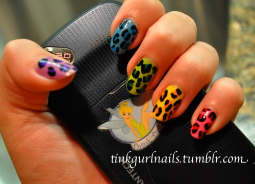 Rainbow Leopard. Done it before but it's one of my favorites! :D