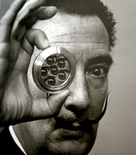 Hoping to see some Dali while I'm in London.