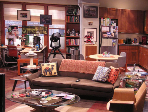 Big Bang Theory: apartment