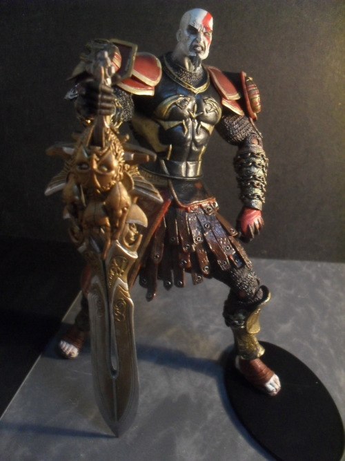 Kratos in Ares Armor