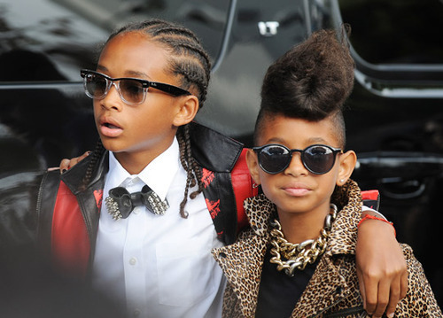 Cute brother and sister: Jaden & Willow Smith #swag