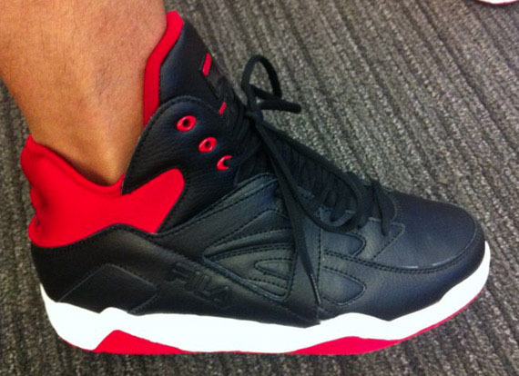 Fila making a comeback? 2012 Fila the Cage Retro's @SimPAOW #BHNR