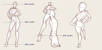 strike a pose! big tutorial, read the whole thing here
