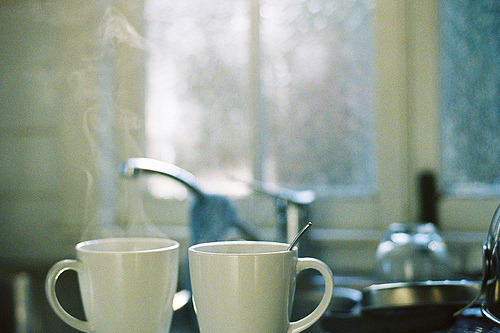 Tea or coffee for two?
