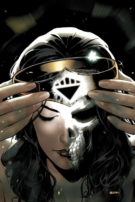 Blackest Night: Wonder Woman #2 by Ryan Sook