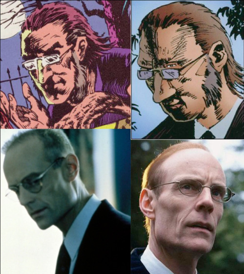 Neil Gaiman's The Sandman Fantasy Casting Alex Burgess- Matt Frewer Someone on the internet suggested him for Lucien and I though well, you're slightly too creepy for Lucien but with the receding hairline and the glasses, you could be Alex Burgess.