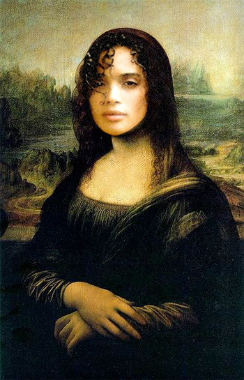 "Mona Lisa Bonet = Leonardo da Vinci painting + ""A Different World"" star"