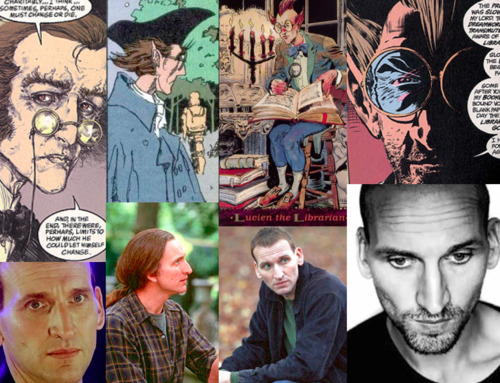 Neil Gaiman's The Sandman Fantasy Casting Lucien- Christopher Eccleston I love Christopher Eccleston. I really do. I think he is so talented and so awesome. He's tall and skinny like Lucien and both have very angular faces with prominent features.