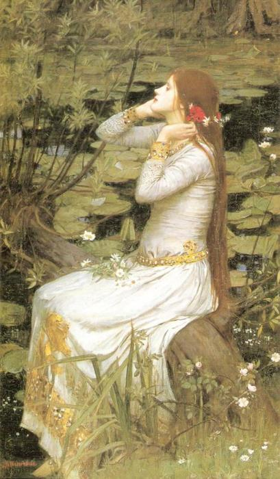 snowce:  John William Waterhouse, Ophelia