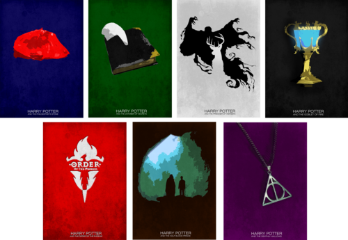 Harry Potter Collection by disenchantedwonderland