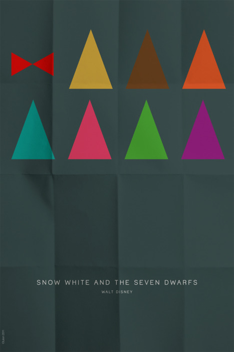Snow White and the Seven Dwarfs by Leon