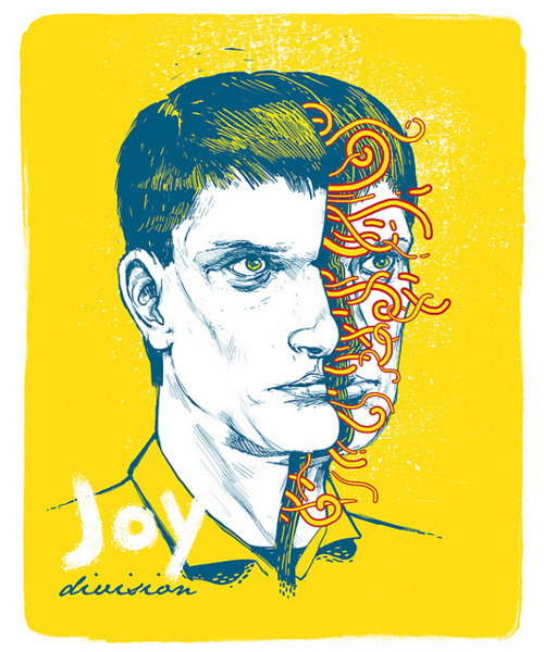 Joy Division on Flickr. New Personal Work.  A portrait of Ian Curtis from Joy Division. www.nikoby.com