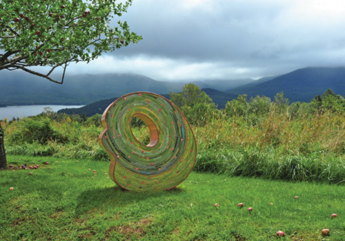 Art for the Earth. Mountain Top Trio, Vermont.  Artist: Susan Tunick