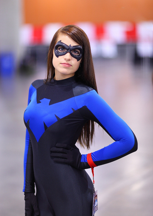 capncarrot:  Nightwing cosplay  Yes Please!