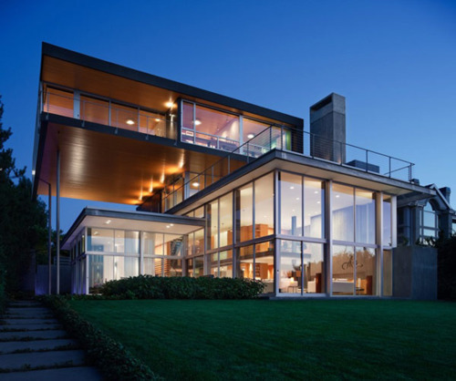 (via Volumes and Voids: Graham Residence by E. Cobb Architects)