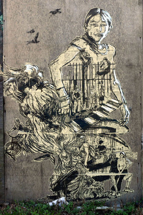 More Work from Swoon