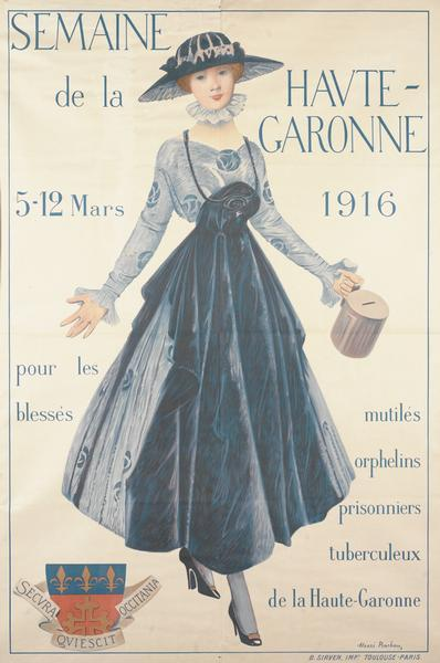 Poster for Haute-Garonne Week, 1916