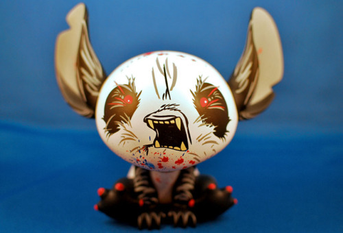 MINDstyle x Disney Experiment 626 Stitch by Angry Woebots Red - 'Angry' edition Limited to 300 Pieces.