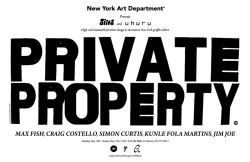 ALIFE X UHURU: PRIVATE PROPERTY, a set on Flickr. ALIFE X UHURU: PRIVATE PROPERTY PHOTO UPDATE