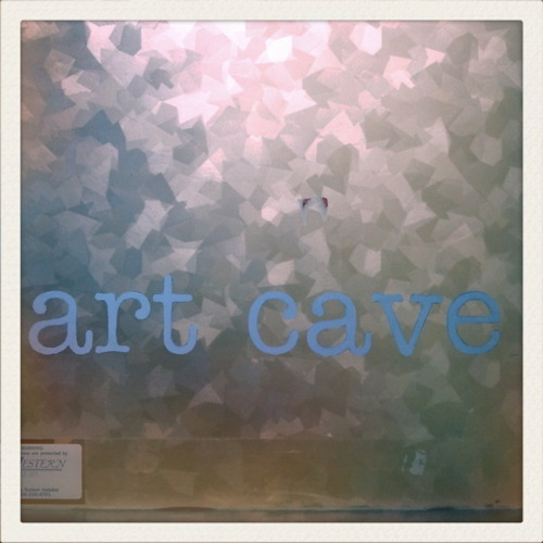 Art Cave Studio Door