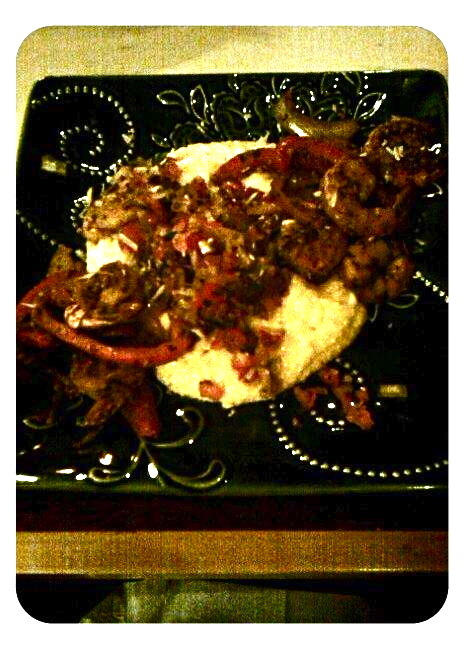 shrimp and grits. o.m.f.g.(sorry for the low lighting)