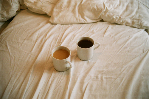 My tea, his coffee. by EYLUL ASLAN on Flickr.