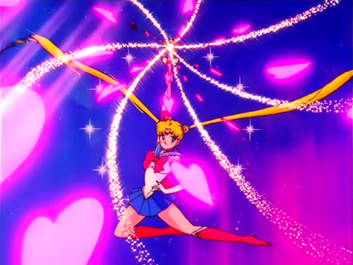 Sailor Moon silver crystal power