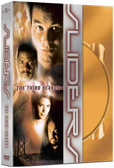 SLIDERS I've been watching it on Netflix recently. I did see a number of episodes way back when, over at a friend's house (he was a huge fan), but I'm only getting into the show now. Okay, fine, so I'm a little slow….
