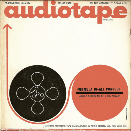 Vintage audio tape packaging, via Craig Wills. From my blog post HERE.