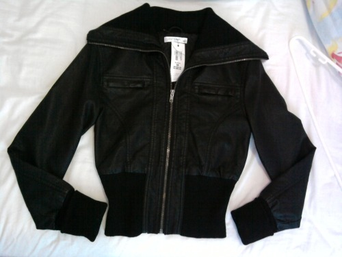 PAPER SCISSORS LEATHER JACKETSize: 8 (fits 6-8)Colour: BlackCondition: Brand new with tagsSelling for: $60 > $50Selling for a friend :)SOLD