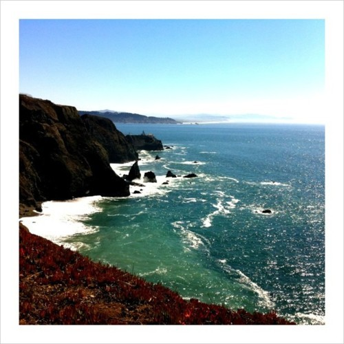 #California #sanfrancisco #bonita #pacific #pch #sea (Taken with Instagram at Bonita lighthouse)